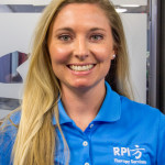 RPI Team Member Ashley Crain, Physical Therapist