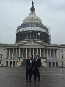 Jonty & Jonathan at NARA Legislative Conference in D.C.