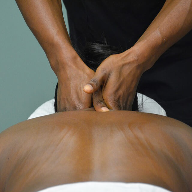 Demonstration of manual Physical Therapy