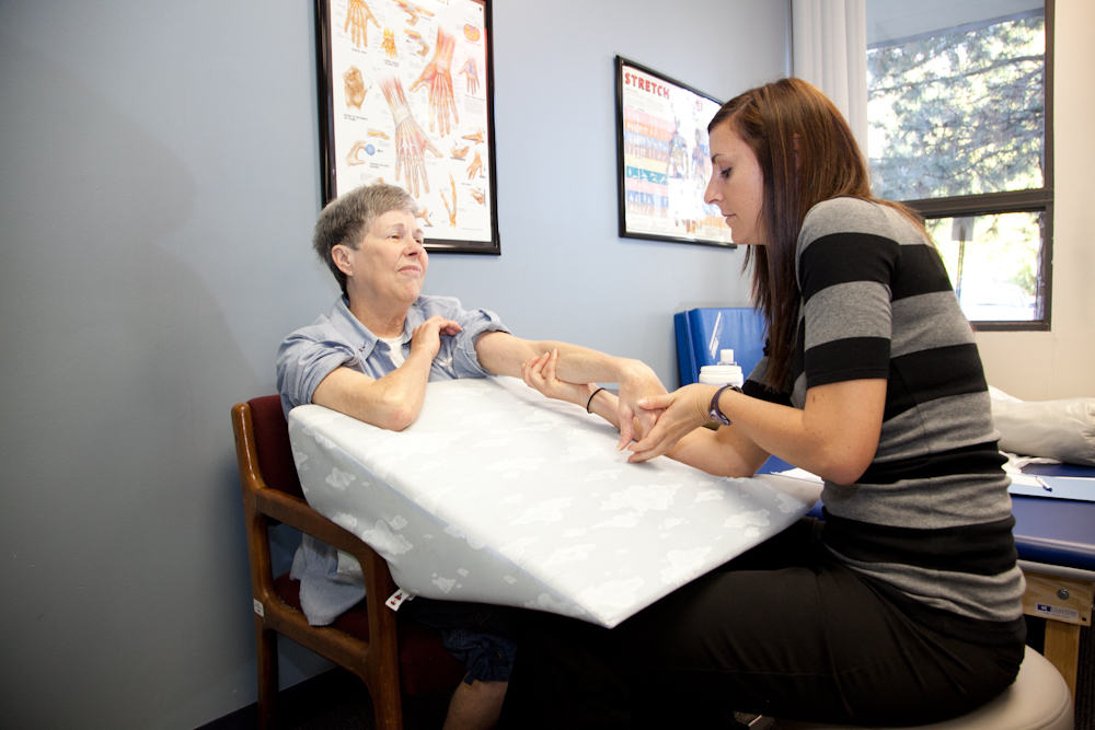 This is the care that our physical therapists give to our patients.