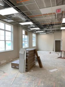 RPI Creve Coeur remodeling progress 1