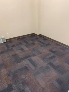 Carpet in the RPI Creve Coeur Location